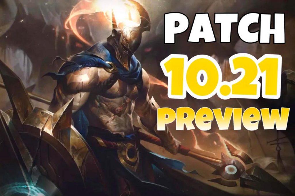 Riot Games muốn Pantheon version 10.21 không …