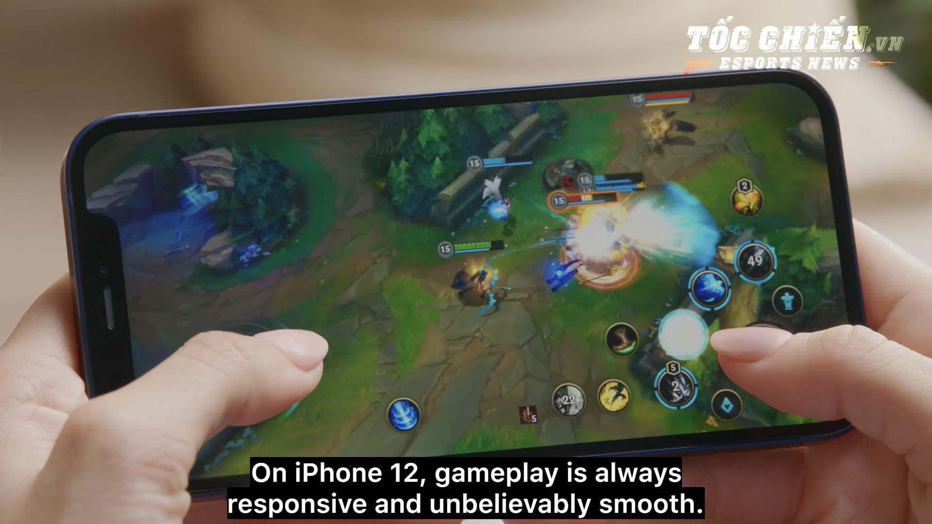 Lee Sin Tốc Chiến được hé lộ kĩ năng tại buổi trực tiếp ra mắt iPhone 12