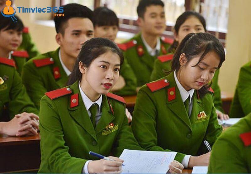 Công an thi khối nào - Trường Học viện Cảnh sát Nhân dân
