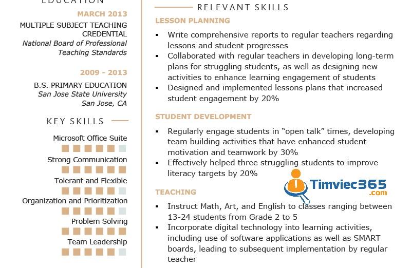 Lựa chọn những ưu thế để làm nổi bật trên CV